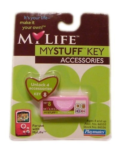 My Life MyStuff Key #8 - Accessories - 1