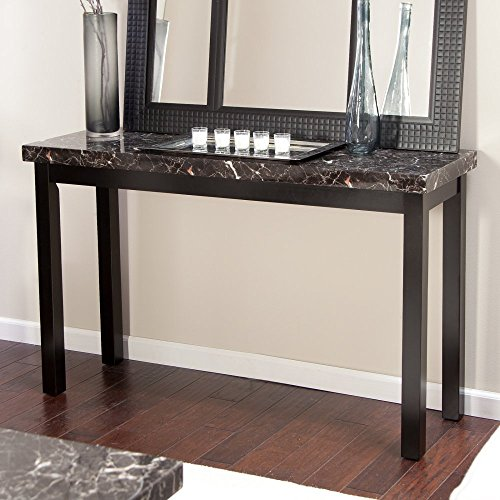 Galassia Faux Marble Console Table (Console Wall Table compare prices)