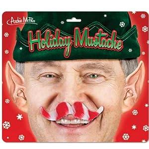 Christmas Holiday Mustache