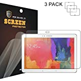 """Mr Shield Samsung Galaxy Tab Pro 10.1"""" 10 Inch Premium Clear [3-pack] Screen Protector with Lifetime Replacement Warranty"""