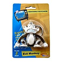 Evil Monkey keychain - Family Guy Bendable Figure keychain