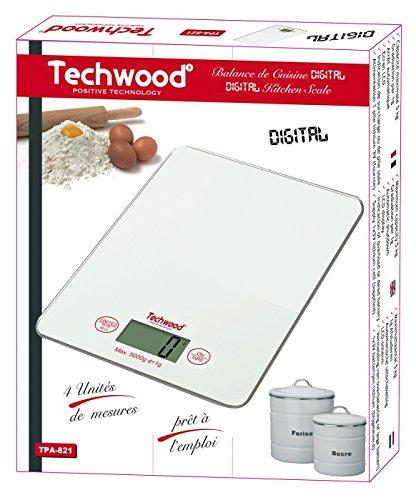 Techwood TPA-821 Balance de Cuisine