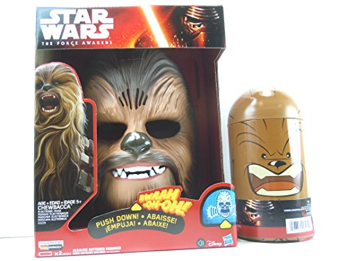 [Star Wars The Force Awakens Chewbacca Electronic Mask,Cardinal 100pc Puzzle] (Authentic Princess Leia Costumes)