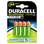 Duracell 81364752 Stay Charged AAX4 P...