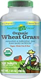 Amazing Grass Organic Wheat Grass, 200 Count, 1000Mg Tablets