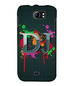 Fuson 3D Printed DJ Designer Back Case Cover for Micromax Canvas 2 A110 / A110Q - D652