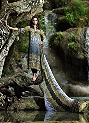 Pure georgette suit with Dupatta