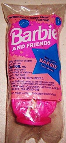 1994 McDonald's Bicyclin' Barbie #1 - 1