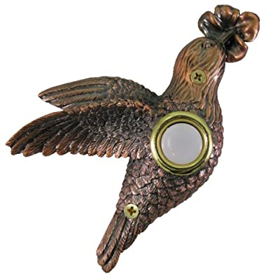 Company's Coming DBZ-019 Hummingbird Bronze Doorbell Cover