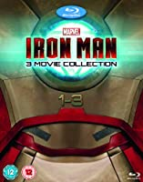 Iron Man 1-3 Complete Collection [Blu-ray]