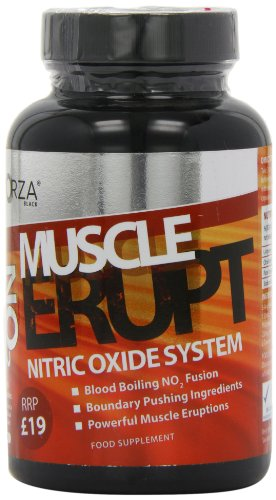 Forza Black - Muscle Erupt - Nitric Oxide Muscle Pump - Pot Of 90 Capsules