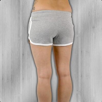 Yakuza Premium Frauen Hot Pants kurze Hose grey - fällt normal aus