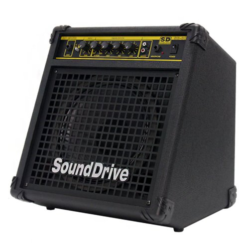 "30W(Rms) Bass Guitar Amplifier Built In Compressor, Input Level Switch, Fx Loop [Sb-30 : 10"" Speaker : 12.6Kg] Made In Korea (Not China) - Free Ship By Ems (Approx 5 ~ 7 Business Days)"