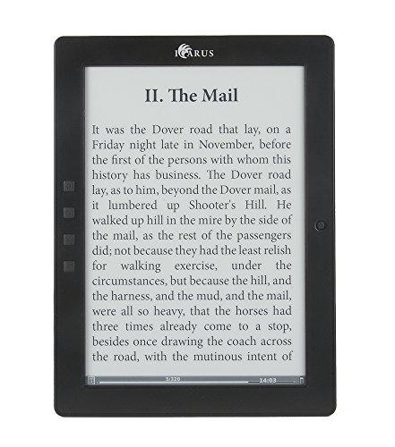 Set completo Icarus E1051BK lettore e-book con custodia