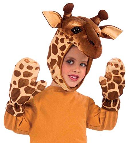 Forum Novelties Giraffe Hood And Gloves Child Costume front-162920