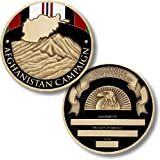 Afghanistan Campaign Service Medal Coin - Engravable Challenge Coin