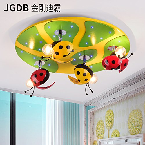 ancernow-boys-and-girls-cartoon-beetle-leaves-morden-simple-led-ceiling-light-colour-changeable-ceil