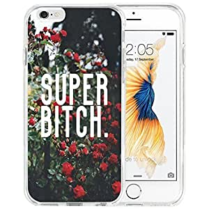 Case for Iphone,Dseason Iphone 6 (4.7) Hard Case NEW High Quality Unique Design Christian Quotes super bitch