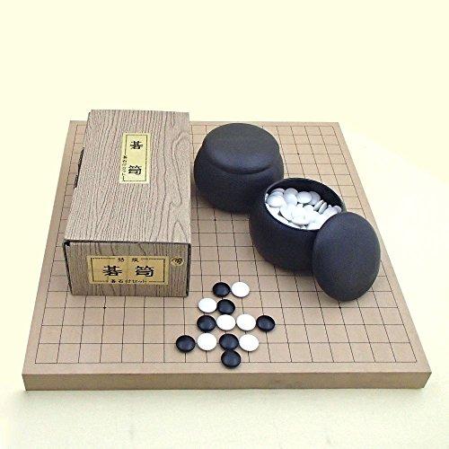 囲碁セット 新桂10号卓上接合碁盤セット 翔