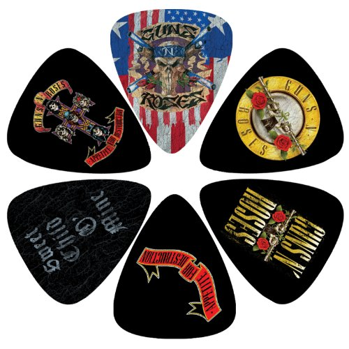 perri-lp-gr2-guns-and-roses-picks-pack-of-6
