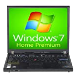 IBM Lenovo Laptop ThinkPad T60 Notebook Computer 1.83GHz - 1GB - 60GB - DVD - Windows 7 Home Premium