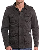 Gov Denim - Veste homme multipoches grise
