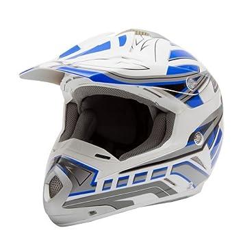 Motocross Casque, bleu, de Saiko