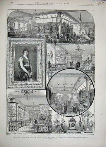 1884 Flemings Wholesale Warehouse London Furniture