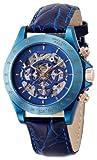 [ブルッキアーナ]BROOKIANA 腕時計 機械式  スケルトン 日付・曜日カレンダー BA1679-IPBL メンズ