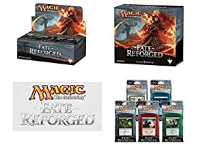 Magic: the Gathering: Fate Reforged - Variety Pack (1 Booster Box, 1 Fat Pack, Set of 5 Intro Packs)