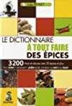 Le dictionnaire  tout faire des pices