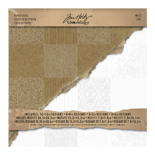idea-ology-carta-stash-carta-pad-12-x-12-24-fogli-single-sided-kraft-12-12-bianco