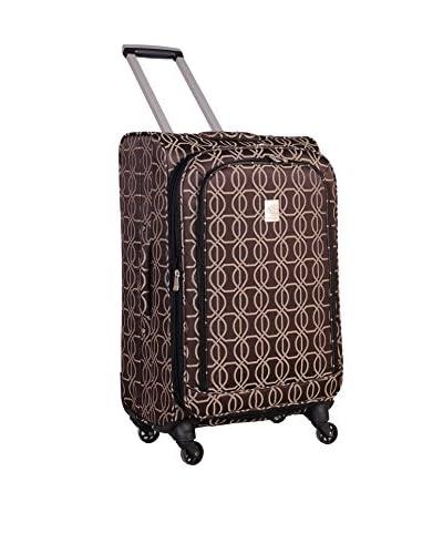 Jenni Chan Links 360 Quattro 25 Inch Luggage, Brown