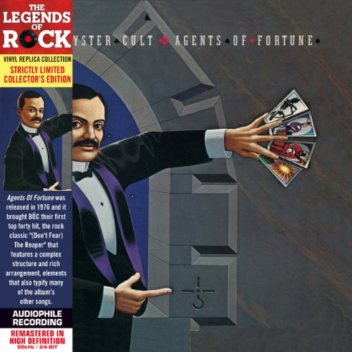 Blue Oyster Cult - Agents of Fortune - Paper Sleeve - CD Deluxe Vinyl Replica