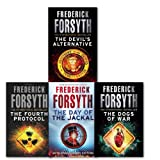 Frederick Forsyth Frederick Forsyth Collection 4 Books Set, (Day of the Jackal, Dogs of War, Devils Alternative & Fourth Protocol)