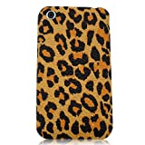 Xtra-FUnky Exclusive Leopard Print Textured Case Cover For Apple iPhone 3G & 3GS (iPHONE 3G - 3GS, Yellow - Brown - Black)by Xtra-Funky