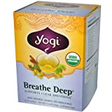 Yogi Tea, Breathe Deep, Caffeine Free, 16 Tea Bags, 1.12 oz (32 g)