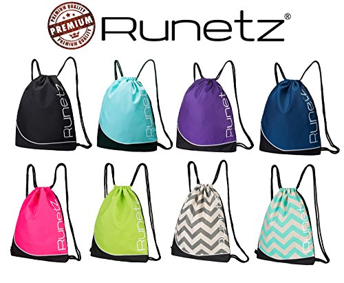 Runetz-Gym-Sack-Bag-Drawstring-Backpack-Sport-Bag-for-Men-Women-Sackpack