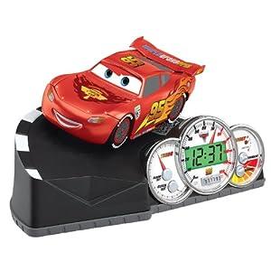 Cars 2 Animated Talking Alarm Clock from KIDdesigns, Inc