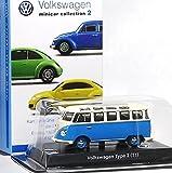 京商 フォルクスワーゲン ミニカーコレクション 2 単品 1/64 サークルK サンクス 限定 VW Volkswagen ワーゲン バス Type 2 ブルー