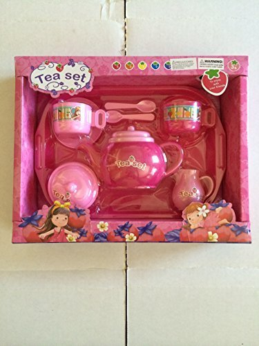 Pink Tea Set for 2