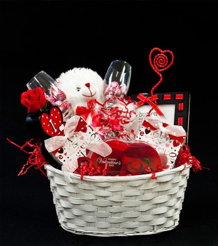 Be My Valentine Valentine's Day Gift Basket for Women