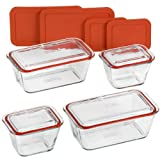 Pyrex 12-piece Glass Storage Set