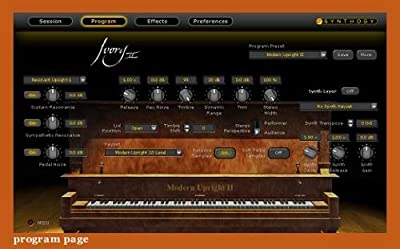 Synthogy Ivory II Upright Pianos For MAC/WIN from Synthogy