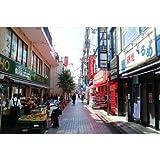 【日本の風景ポストカードAIR】調布市仙川町の朝の風景の葉書ハガキはがき photo by MIRO