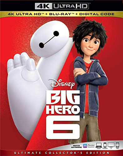 4K Blu-ray : Big Hero 6 (2 Discos)