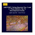 Arensky/String Quartets 1 And 2