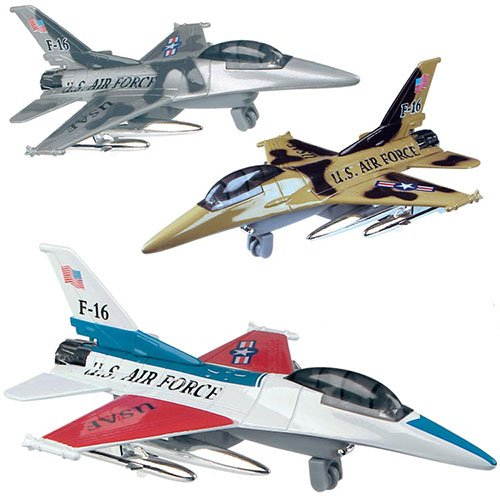 Toysmith P/B Military Jet
