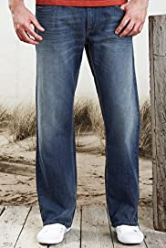 North Coast Pure Cotton Bootcut Denim Jeans with Belt