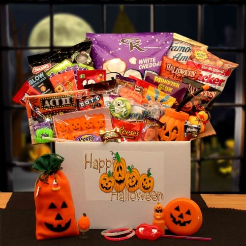 The Halloween Sampler Care Package (Halloween Candy Baskets)